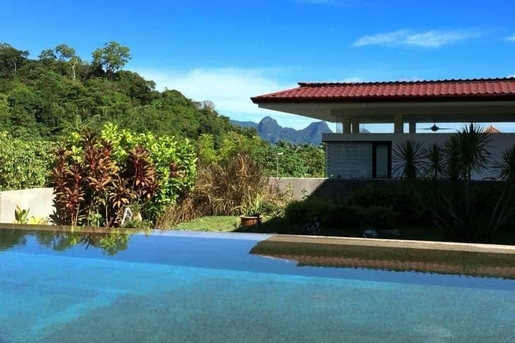 Swimming Pool - Andaman Hills Villa Langkawi Freehold for Sale Langkawi Real Estate