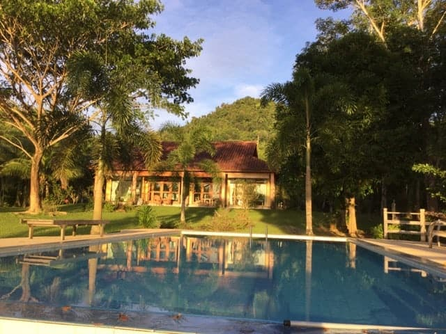 Outside View With Pool | Private Villa with Pool and Land for Sale | Ulu Melaka Langkawi