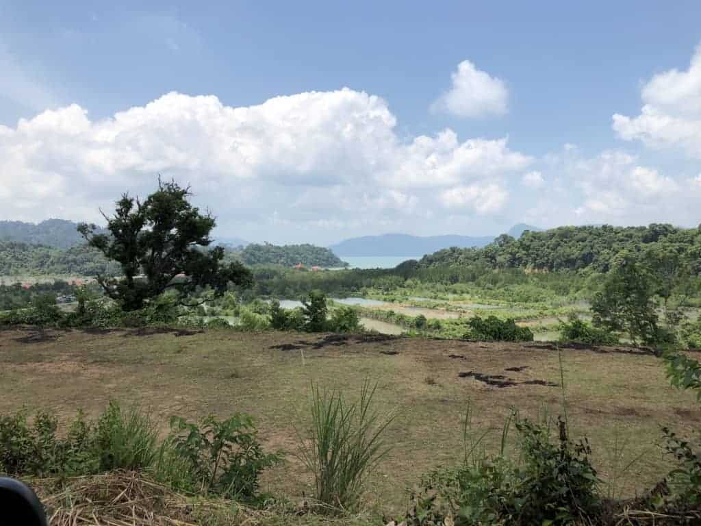 Facing Pulau Dayang Bunting | Elevated Land for Sale Temonyong Langkawi | Langkawi Real Estate