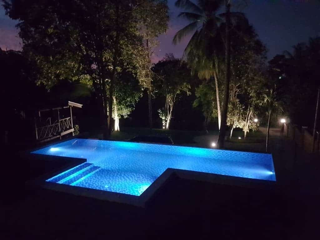 Langkawi Real Estate | Beautiful Villa for Rent | Villa Samara 4 - Night Time Pool View