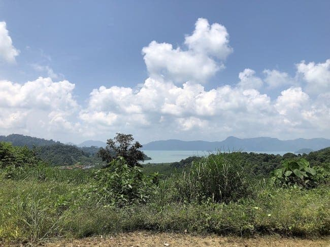 Elevated Seaview Land | Temonyong Langkawi