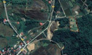Top View 2   Elevated Land for Sale Temonyong Langkawi   Langkawi Real Estate